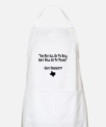 You May All Go To Hell Apron