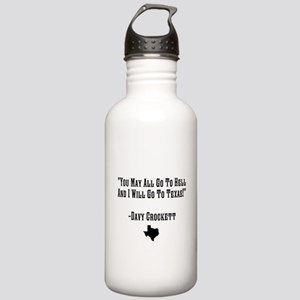 You May All Go To Hell Water Bottle