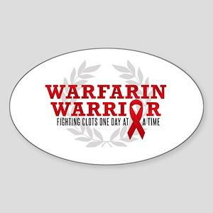 warfarinwarrior Sticker