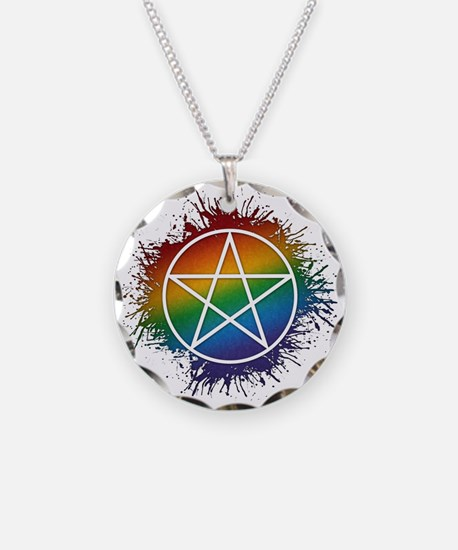 LGBT Pagan Pentacle Necklace