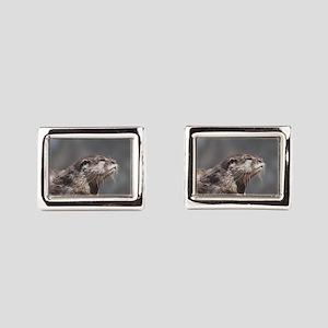 Posing River Otter Cufflinks