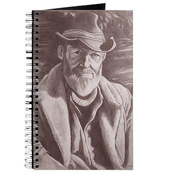 Cowboy Sketch Journal Notebook Original Artwork