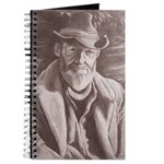 Cowboy Sketch Journal Notebook Original Artwork