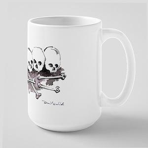 Large Boneyard Coffee Mug