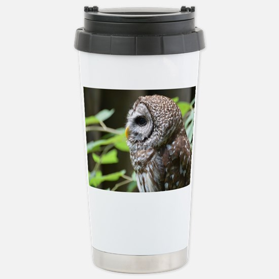 Grey Owl Stainless Steel Travel Mug