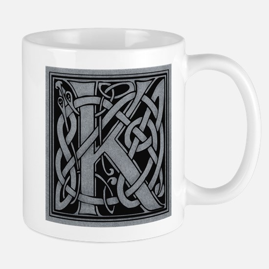 Celtic Monogram K Mug