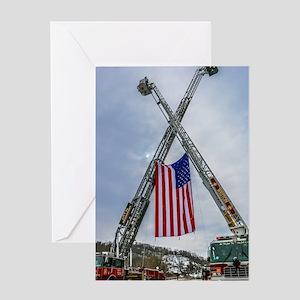 Fallen Firefighter  Greeting Card