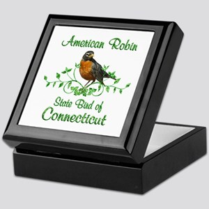 Robin Connecticut Bird Keepsake Box