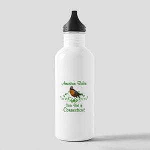Robin Connecticut Bird Stainless Water Bottle 1.0L
