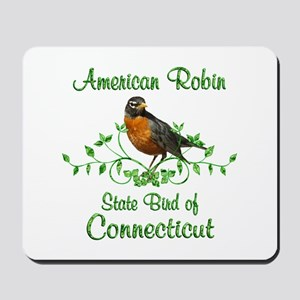 Robin Connecticut Bird Mousepad