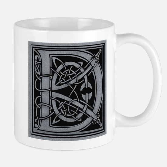 Celtic Monogram D Mug