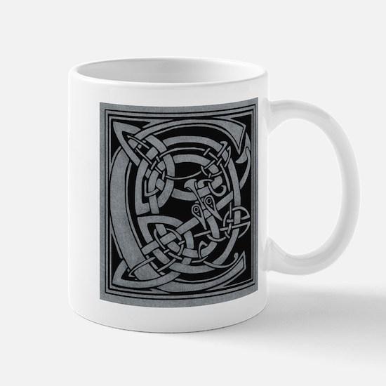 Celtic Monogram C Mug