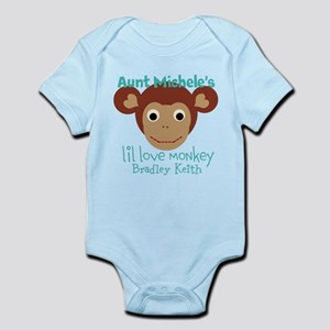 Personalize Love monkey Body Suit