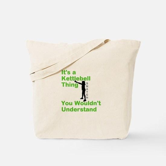 Kettlebell Thing Tote Bag