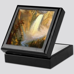 Yellowstone Falls Keepsake Box