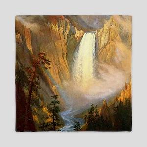 Yellowstone Falls Queen Duvet