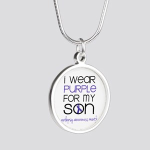 Wear Purple for Son - Epilepsy Awareness Month Nec