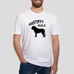 Mastiffs Rule Fitted T-Shirt