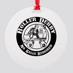 No Balls Required Round Ornament