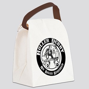 No Balls Required Canvas Lunch Bag