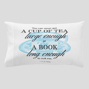 Tea Quote Pillow Case