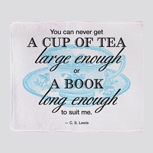 c s lewis quote blankets cafepress