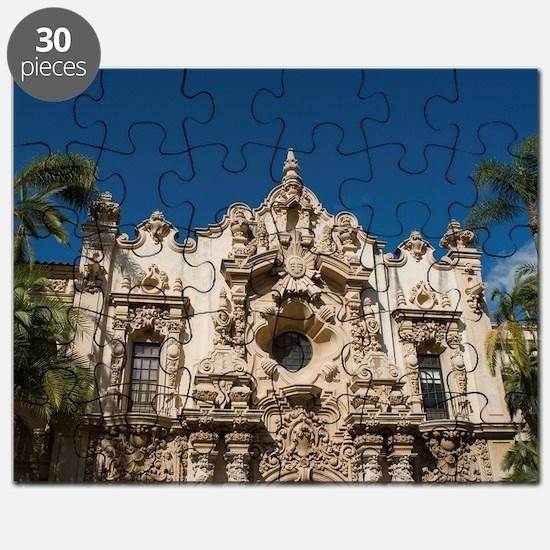 Balboa Park Facades Puzzle