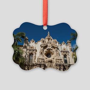 Balboa Park Facades Picture Ornament