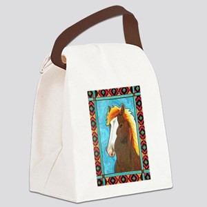 Wild Horse Canvas Lunch Bag