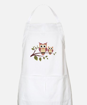 Duo of Owls Apron