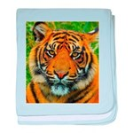 The Last Tiger? baby blanket