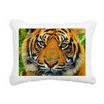 The Last Tiger? Rectangular Canvas Pillow