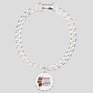 Multiple Myeloma Combat Charm Bracelet, One Charm