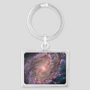 M83 Southern Pinwheel Galaxy Landscape Keychain