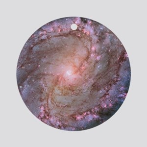 M83 Southern Pinwheel Galaxy Round Ornament