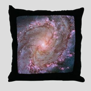M83 Southern Pinwheel Galaxy Throw Pillow