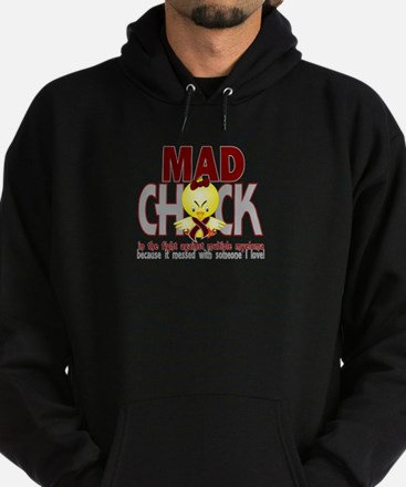 Multiple Myeloma Mad Chick 1 Hoodie (dark)