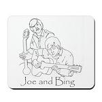 Joe and Bing Mousepad