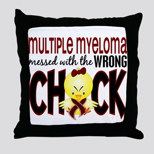 Multiple Myeloma Wrong Chick 1 Throw Pillow