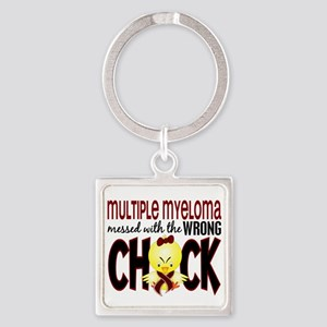 Multiple Myeloma Wrong Chick 1 Square Keychain