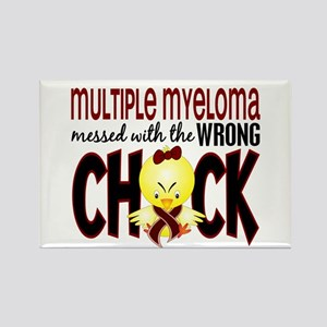 Multiple Myeloma Wrong Chick 1 Rectangle Magnet
