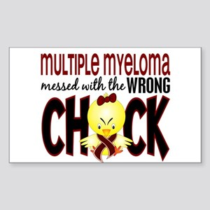 Multiple Myeloma Wrong Chick 1 Sticker (Rectangle)