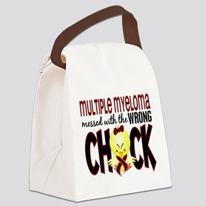 Multiple Myeloma Wrong Chick 1 Canvas Lunch Bag
