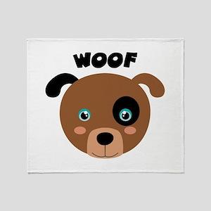 WOOF Throw Blanket