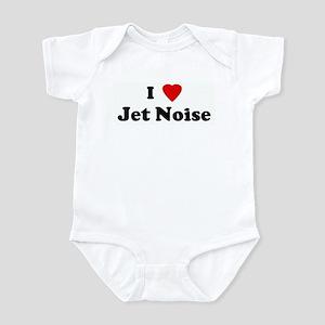I Love Jet Noise Infant Bodysuit