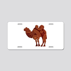 Camel Aluminum License Plate