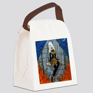 Anima Sola Lost Soul by Lori Kare Canvas Lunch Bag