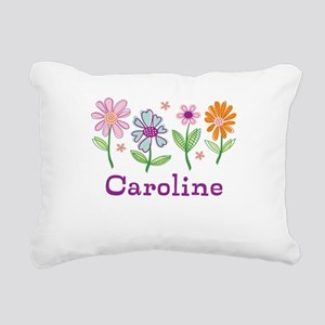 Daisy Garden Rectangular Canvas Pillow