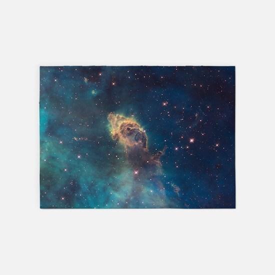 Stellar Jet in Carina Nebula 5'x7'Area Rug