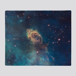 Stellar Jet in Carina Nebula Throw Blanket